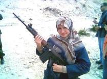 Young Hiba gets to take part in a Hezbollah tour. Is that an FN FAL?